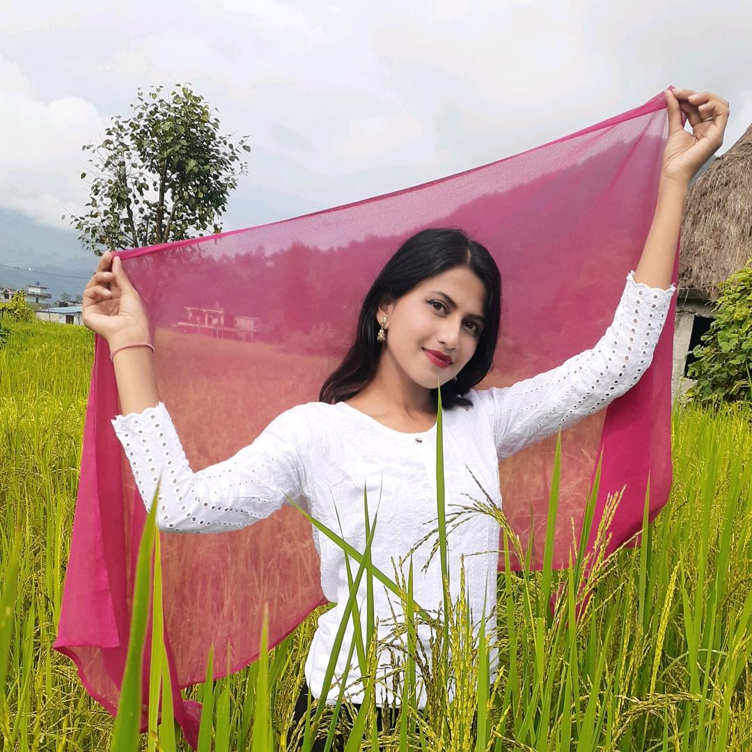 Salina Ghimire TikTok
