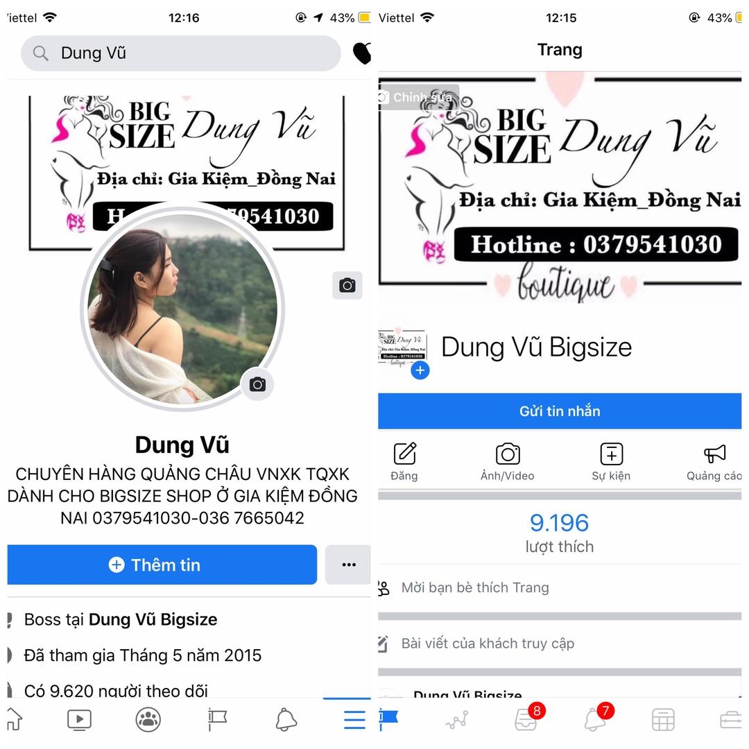 Fb: Dung Vũ TikTok