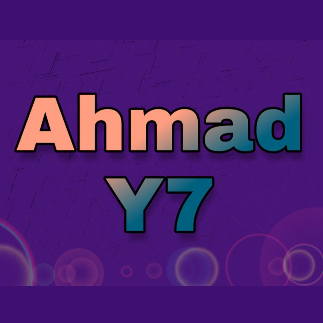 Ahmad Y7 TikTok
