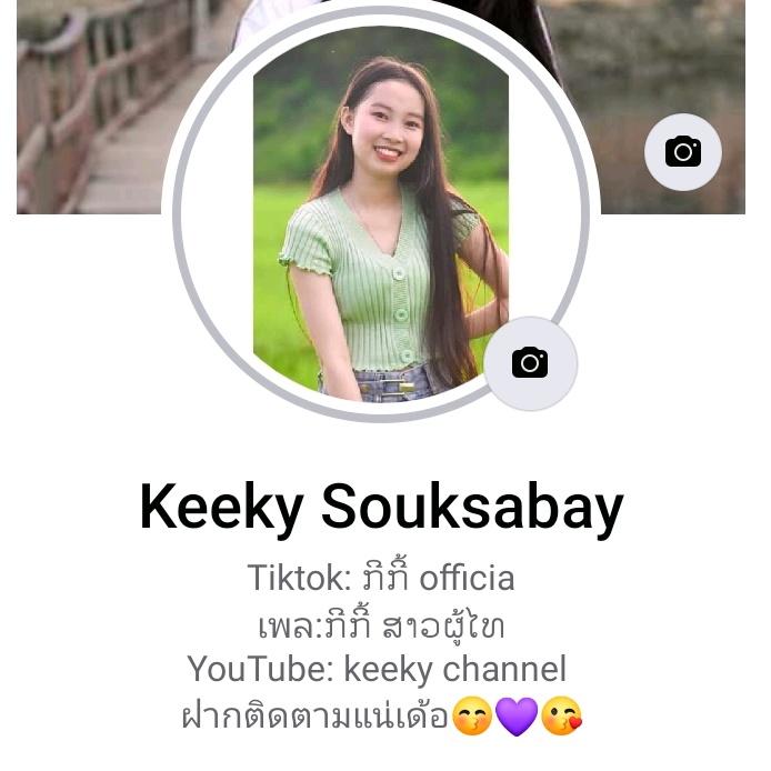 Fb:keeky souksabay TikTok