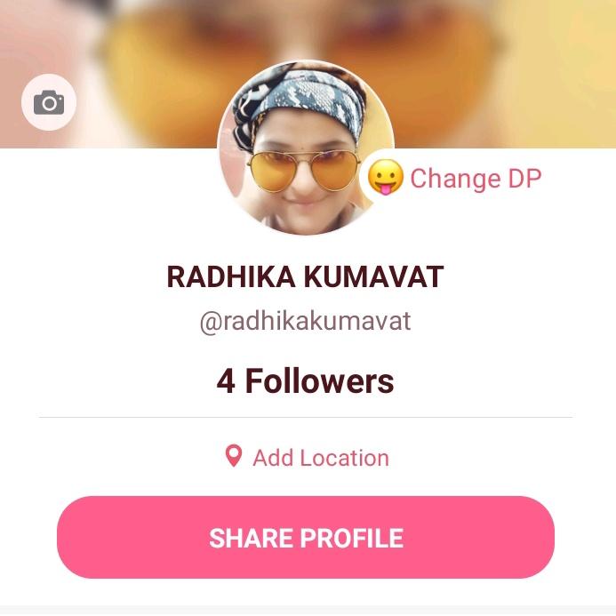 Radhika Kumavat TikTok