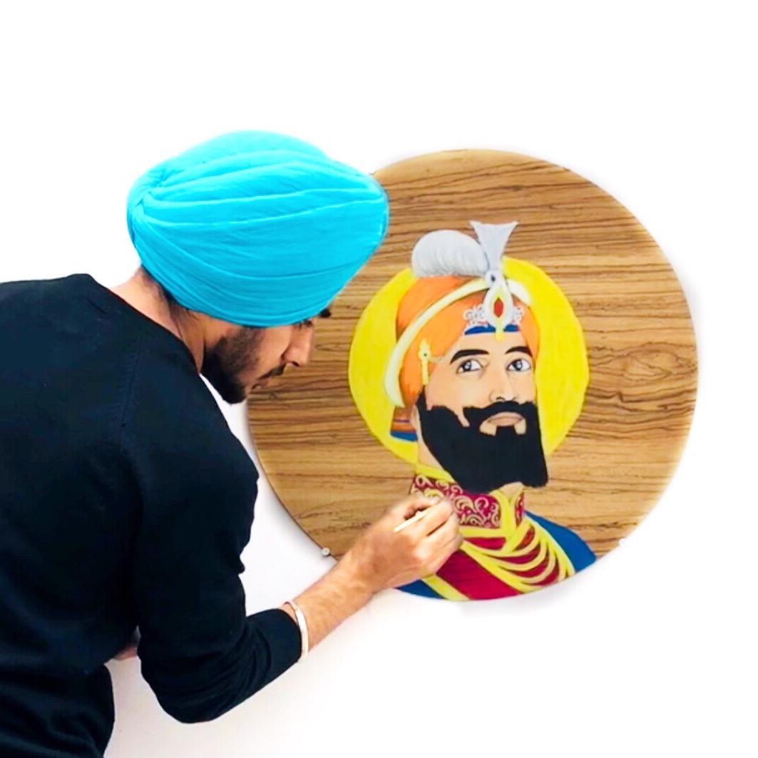 Harsh Bhullar Arts TikTok