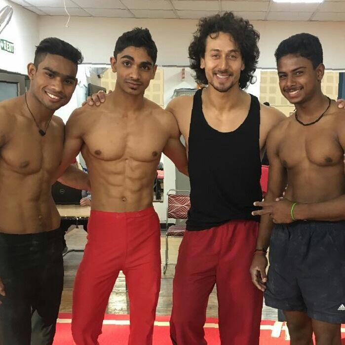 Afjal gymnast TikTok